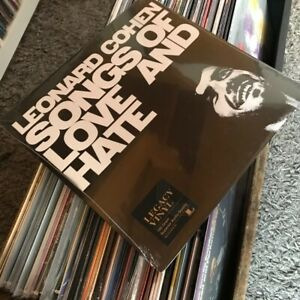 Leonard Cohen - Songs Of Love And Hate (LP VINILE 180 GRAMMI) NUOVO