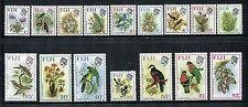 Fiji 305-320, MNH Birds: Silvereye Slaty Monarch Collared Lory  1971 x18971