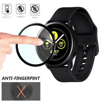 New 3D Full Screen Tempered Glass Protector Film For Samsung Galaxy Watch Active