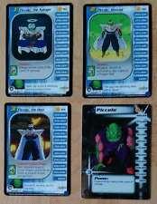 PICCOLO LV1-3 & HT [Damaged] #167-169 & 193 Trunks Dragon Ball Z Ccg Tcg Dbz