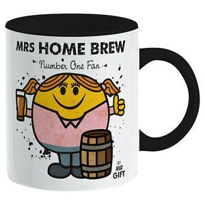 Home Brew Mug - Gift for The Worlds No 1 Beer Maker Present Gift mum women girl