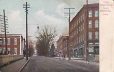 Antique POSTCARD c1905-07 Upper Main Street BRISTOL, CT 16598