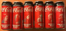SET OF 6 COCA COLA CAN - 330ml - STAR WARS The Rise of Skywalker POLISH EDITION