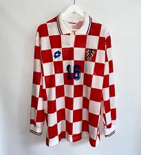 CROATIA HOME 1995/96 MATCH WORN PLAYER SHIRT NATIONAL TEAM HRVATSKA #16 LOTTO