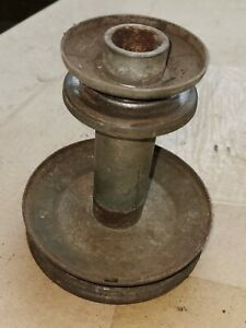 doppelte Keilriemenscheibe von Briggs & Stratton 12.5 HP I/C QUIET Motor -2-