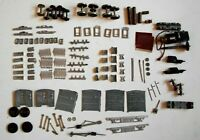 HO Railroad Vintage Cast Metal Parts to Build or Repair Train Cars / Locomotives