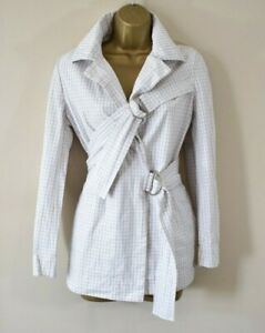 VIVIENNE WESTWOOD RED LABEL 44 Rare Iconic Bondage Style Checked Cotton Jacket
