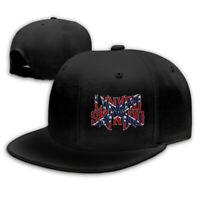 Unisex lynyrd skynyrd Logo Adjustable Baseball Snapback Cap Hat