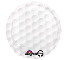 """Golf Ball 17"""" Foil Balloon Double Sided Birthday Party 3 Pack Event Helium"""