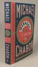Michael Chabon, MANHOOD FOR AMATEURS, Signed (title page) 1st/1st, New