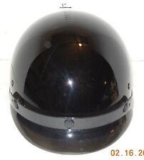 Fulmer AF-80 DOT Motorcycle Half Helmet Black Size Medium with Visor