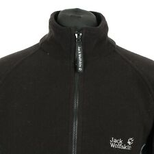 JACK WOLFSKIN WOMENS Fleece Jacket 12 White Orange £9.99