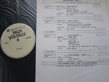 JIMMY PAGE Live  METAL CHURCH Guest Disc Jockey 1989 PROMO ONLY double lp