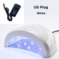 Profesional SUN3 48 W LED UV para Uñas Lámpara Luz Secador Cura Esmalte Gel de