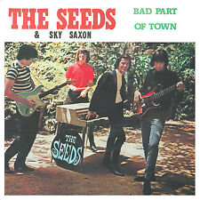 THE SEEDS - Bad Part Of Town - (CD) VINYL REPLICA