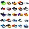 NFL Football Silicone Rubber Wrist Band Two Bracelets Choose Your Team