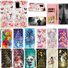 For Samsung Galaxy S20 Plus A51 A71 Luxury Leather Flip Card-Wallet Case Cover