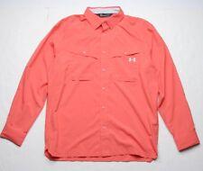 Under Armour Tide Chaser Ls Shirt (L) Coho Elemental