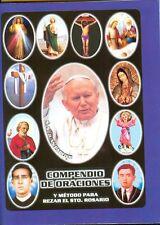 Compendio de Oraciones y Método para rezar el Santo Rosario 04765
