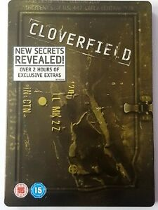Cloverfield DVD Steelbook 2- disc DVD