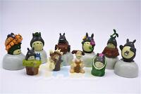10pcs/set Anime My Neighbor Totoro PVC Figure Model Cake Decor New Gift