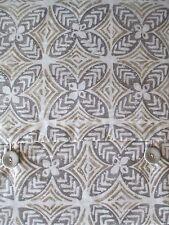DKNY ACACIA 100% Cottton 3pc Duvet Cover Set Tan Brown White Floral - King