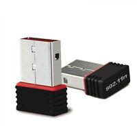 USB Mini Wireless Wifi Adapter Dongle Receiver Network LAN Card PC 150Mbps DGK U
