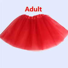 Girls/Adult NEW Tulle Party Ballet Mini Mother Daughter Women Tutu Skirts