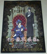 Kuroshitsuji Black Butler Art Book Black Record Yana Toboso Anime Manga