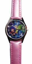 Disney's Inside Out Quartz Movement Leather Band Wrist Watch