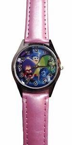 Disney's Inside Out Quartz Movement Leather Band Timepiece