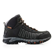 Scruffs CHEVIOT Safety Hiker Work Boots Black (Sizes 7-12) Mens Shoes