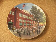 Bradford Exchange 3rd plate Series Fenway Home of the Green Monster Park Red Sox