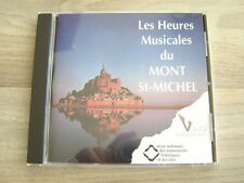 classical CD private LES HEURES MUSICAL DU MONT ST MICHEL poulenc gluck fuertanz