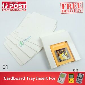 Cardboard Tray Insert For Nintendo Gameboy Color DMG & GBP & GBC Game Boxs