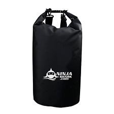 Dry Bag Backpack 10L Waterproof BLACK PVС Bag for Boating Fishing Sailing Hiking