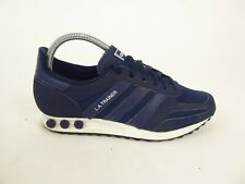 Adidas Navy L.A. Trainers - Size UK 7