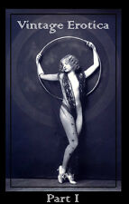 vtg erotica image disk reference photography art deco pin up flapper burlesque