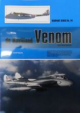 Warpaint Series No.44 - De Havilland Venom and Sea Venom      40 Pages      Book