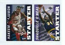 1997-98 Ultra-Fleer Ultrabilities Starter 2 Card Insert Lot Olajuwon & Shaquille