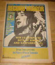 October Record Mirror Music, Dance & Theatre Magazines