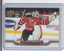 2015-16 UD UPPER DECK CANVAS MARTIN BRODEUR #C247  RETIRED STARS