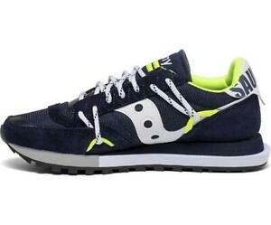 Saucony Jazz DST Navy Silver Athletic Sneaker S70528-9 NEW