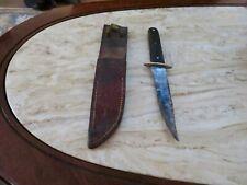 Vintage Remington RH30 Fixed Blade Knife W/Sheath
