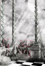 Palace Moon Light Vinyl Photo Backgrounds 5x7ft Studio Photography Backdrops