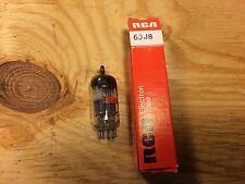 NOS NIB RCA 6DJ8 ECC88 Tube 1986 Tested Super Strong A-Frame Made in Yugoslavia