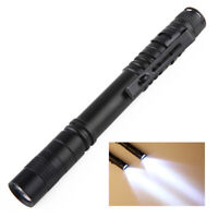 Ultra Slim Portable 3500LM CREE XPE-R3 LED Torch /Flashlight Lamp With Clip