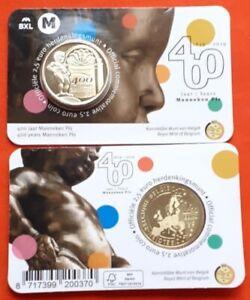 """Belgium 2.50 euro 2019 """"Manneken Pis"""" BU"""