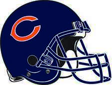Chicago Bears Helmet Vinyl Decal / Sticker * 5 Sizes *
