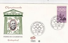 Germany 1968 Olympic Games Set of 3 FDC Unaddressed VGC